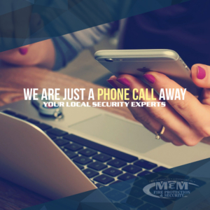 Just a Phone Call Away - M&M Fire Protection & Security - Goshen, Indiana