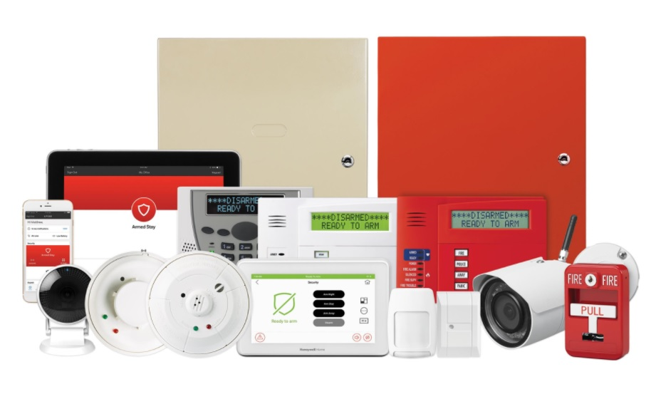 Modern Home Security Package - M&M Fire Protection & Security Corp.