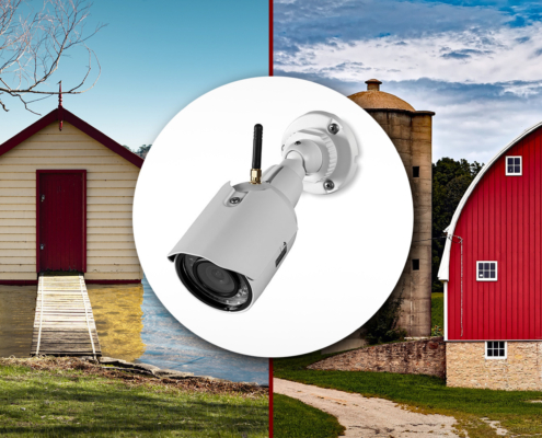 Barn, Shed, Garage Security - Fire Protection, etc. - M&M Fire Protection & Security